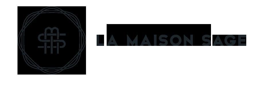 logo noir la maison sage